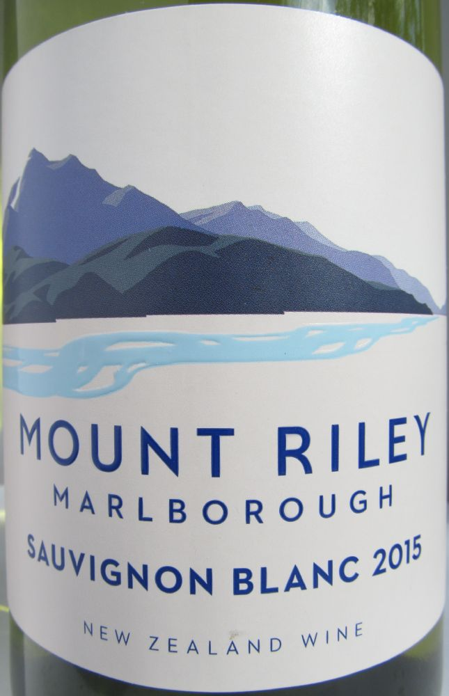 Mount Riley Wines Limited Sauvignon Blanc 2015, Основная, #3096