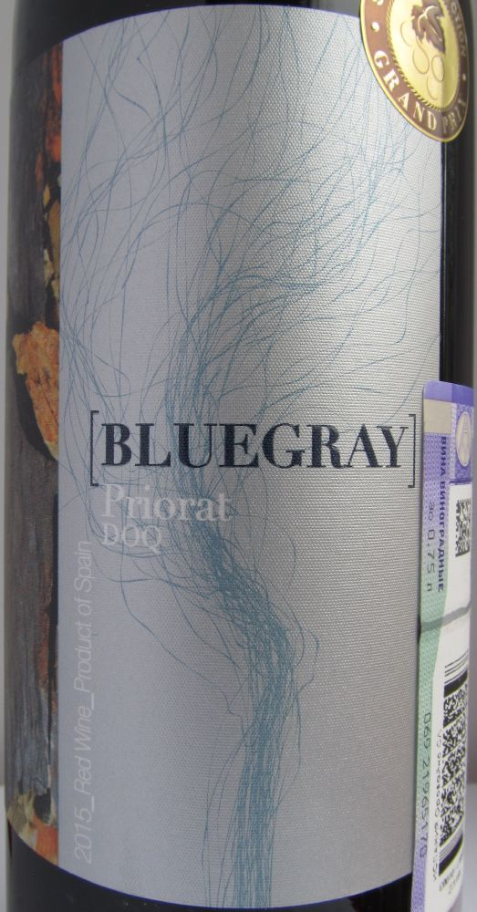 Orowines S.L. BLUEGRAY DOCa Priorat 2015, Основная, #6059